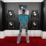 Image for the Tweet beginning: #Grammys red carpet  via