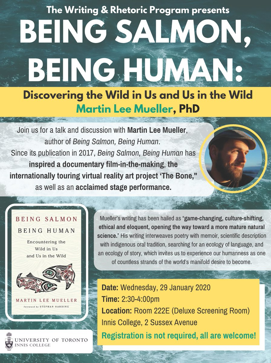 Being Human Being Salmon Encountering the Wild in Us and Us in the Wild
