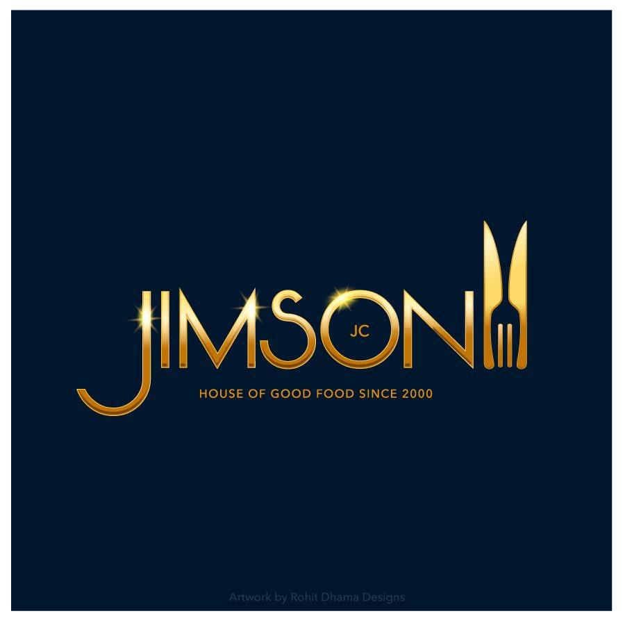 Logo design for Jimson restaurant and catering service in Goa. #design #designer #designs #designstudio #brandidentity #creativelifehappylife #creative #goa #india #goodfood #goanfoodie  #goodfoodguide #gold #lovetoeatpic.twitter.com/eSvATtumpf