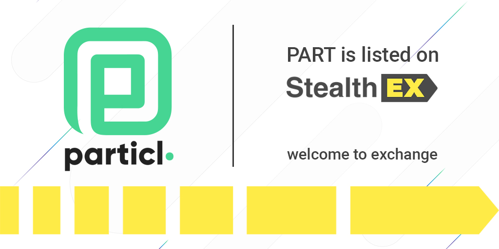 Tweet by @StealthEX_io