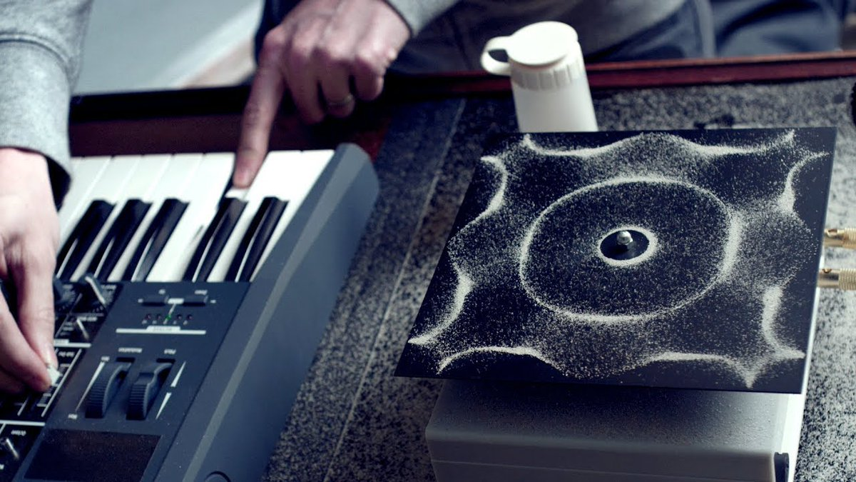 My profile pic is of #CYMATICS- the physical form waves take. They are a reminder that your energy and thoughts, no matter how small, are physical, palpable and potentially transformative. pic.twitter.com/uA9RiXjT5x