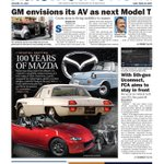 Image for the Tweet beginning: This week's issue:  • GM's AV