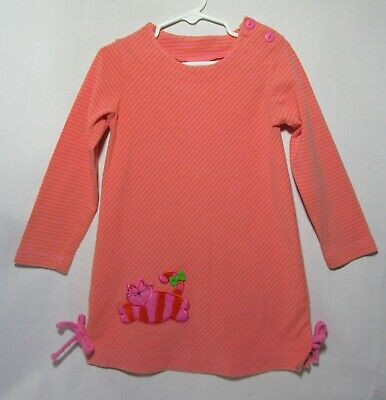 Pink and Tangerine Long Sleeved Striped Dress with Cat Applique http://ebay.com/itm/193308209383 … Peaches 'n Cream Girl's Size 4 #eBay Marbrasw #winterready #fashionwant #winterlook #fashionlovers #outfitinspirationpic.twitter.com/ZCEHvvukGG