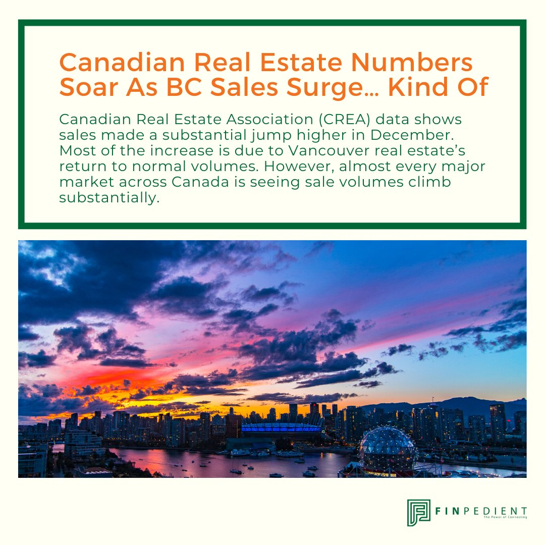 Canadian real estate buyers were out in full force last month. @CREA_ACI data shows sales made a substantial jump higher in December.  Read more https://betterdwelling.com/canadian-real-estate-numbers-soar-as-bc-sales-surge-kind-of/#_…  #realestatenews #realestateinvestor #realestatedeveloper #propertydeveloper #homebuyer #realestategrouppic.twitter.com/5STwDRSiM4