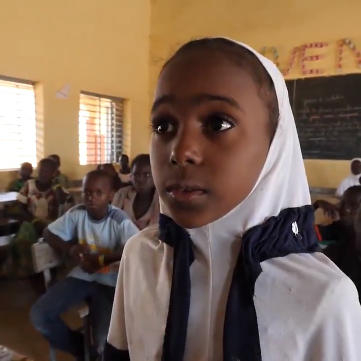 """""""I used to love school,"""" Hussaini, 14.    After his school was destroyed during an attack in Burkina Faso, Hussaini has been given a new chance to learn through a UNICEF-supported radio learning project.    #ChildrenUnderAttack"""