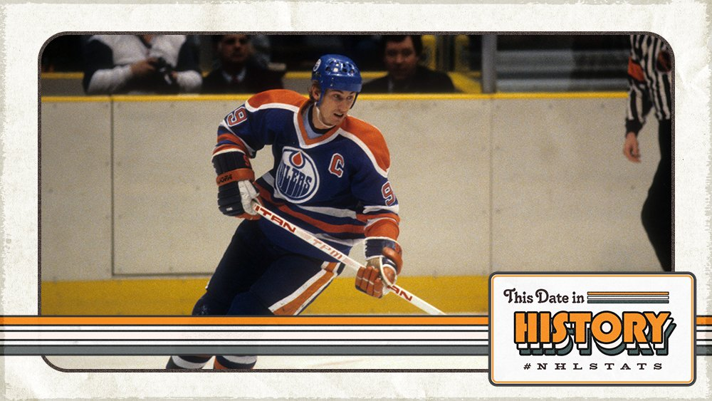THIS DATE IN 1984: @WayneGretzky extended his point streak to 51 games (61-92—153 in 51 GP). His 51-game run still stands as the longest point streak ever recorded in NHL history. #NHLStatsMore TDIH: http://bit.ly/2vke5BE