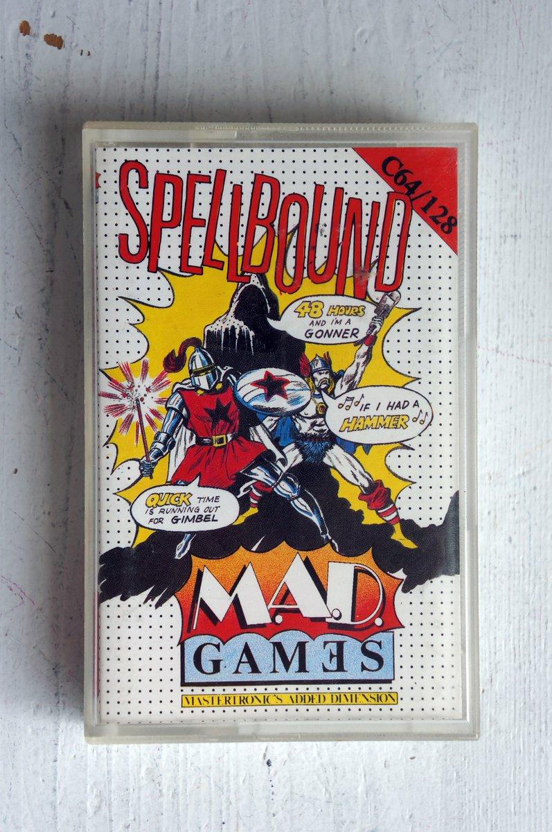 Spellbound (Mastertronic, 1986) Loved this series. #C64 #commodore64 #8bit #retrogamer @DarkBlueMonkey @C_64 @EverythingC64pic.twitter.com/N7KFetcaHX