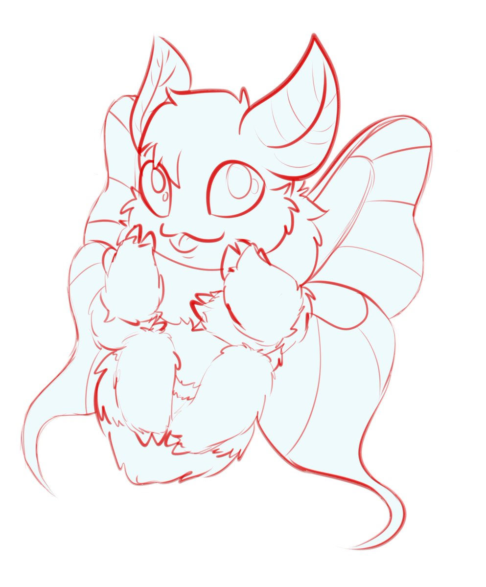 Do I have any moth followers?? Cause I just made this cutie of a ych! I'll color this in -as is- for $6 OR Lined and colored for $12 #furryart #ych #furry #mothpic.twitter.com/hZ4uq1itnu