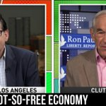Image for the Tweet beginning: Ron Paul Gives Jimmy Dore