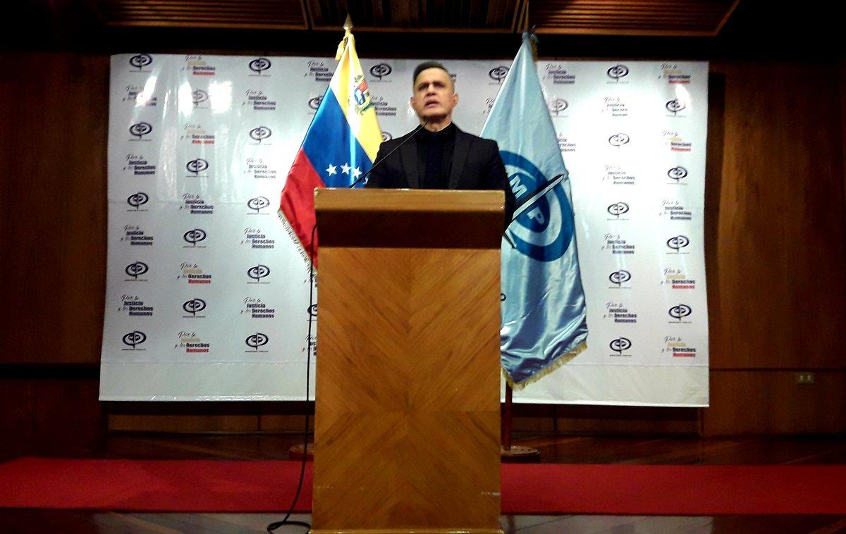 #AHORA Fiscal General Tarek William Saab ofrece detalles sobre caso del presbítero Jesús Manuel Rondón Molina y avances en casos de abuso sexual a niños, niñas y adolescentes #27Ene