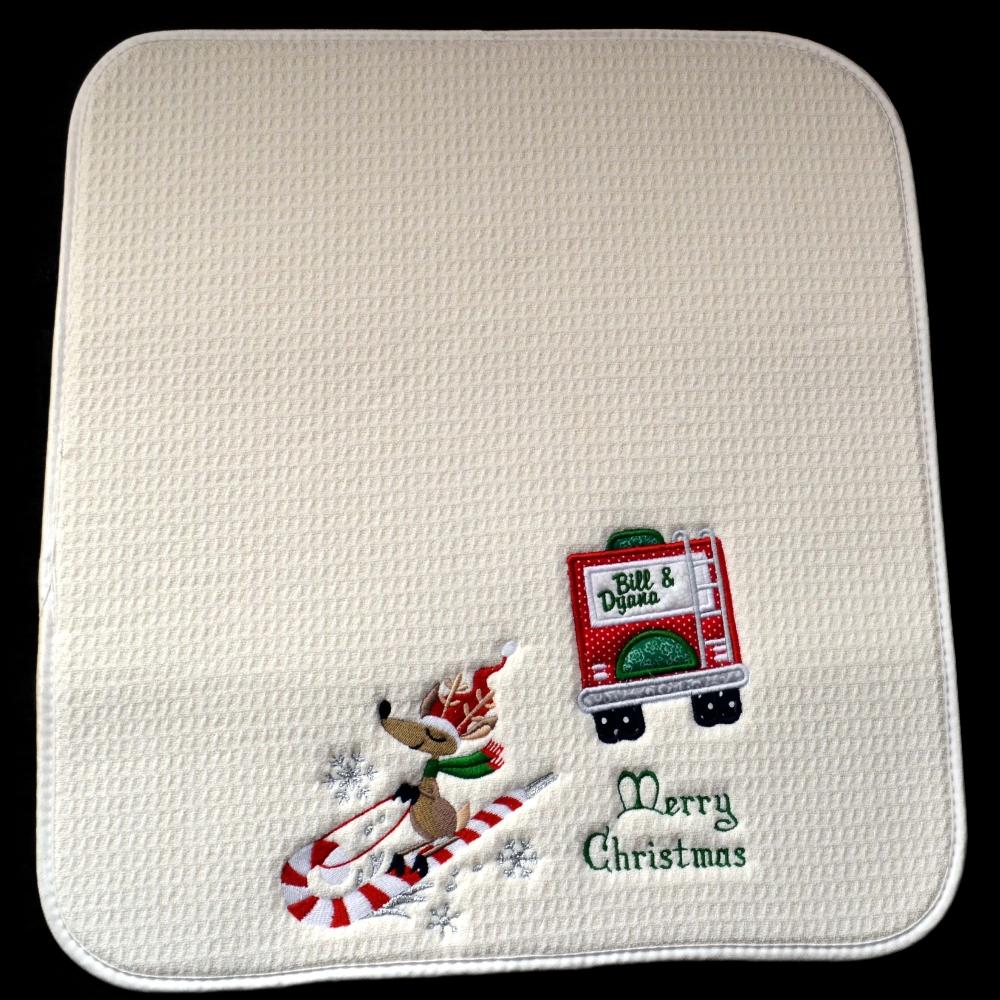 "Christmas RV Dish Drying Mat,  http://www. etsy.com/listing/652601 941/SLIDING  …  Coffee Mat, Xmas Gift, Holiday Decor, Camper Decor, Durable 16""x18, Machine W/D #dishdryingmat #Christmasgift Camping gift, Gifts, dish drying gifts, coffee mats, coffeepot mats, christmasgifts, Campinggifts, Holiday gifts, <br>http://pic.twitter.com/XzYyt5I4Vi"