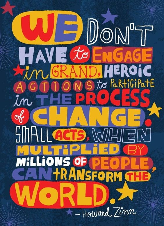 Small acts when multiplied by millions of people can change the world #choosekind