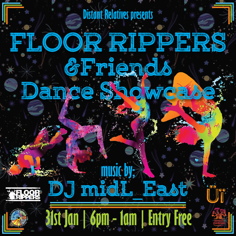 Dance and Music is good for the soul. This week, @FloorRippers and DJ @midL_east. Don't miss out!!  #LivingProof #Dance #hiphop #ShowcaseGreatness https://t.co/4vvxY9AjSG
