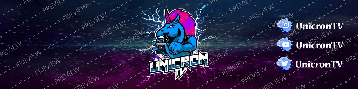 Hello Everyone!  I recently did this art for my best client @UnicronTV :) If you also need any twitch/ discord or Yt/twitter art then DM's are open for you.  #Banner #header #Logo #overlay  #twitchpackage  #GraphicDesigner #Mascot #artists #Area51storm #ClimateAction   #MondayMood<br>http://pic.twitter.com/BZ0udtSOD3