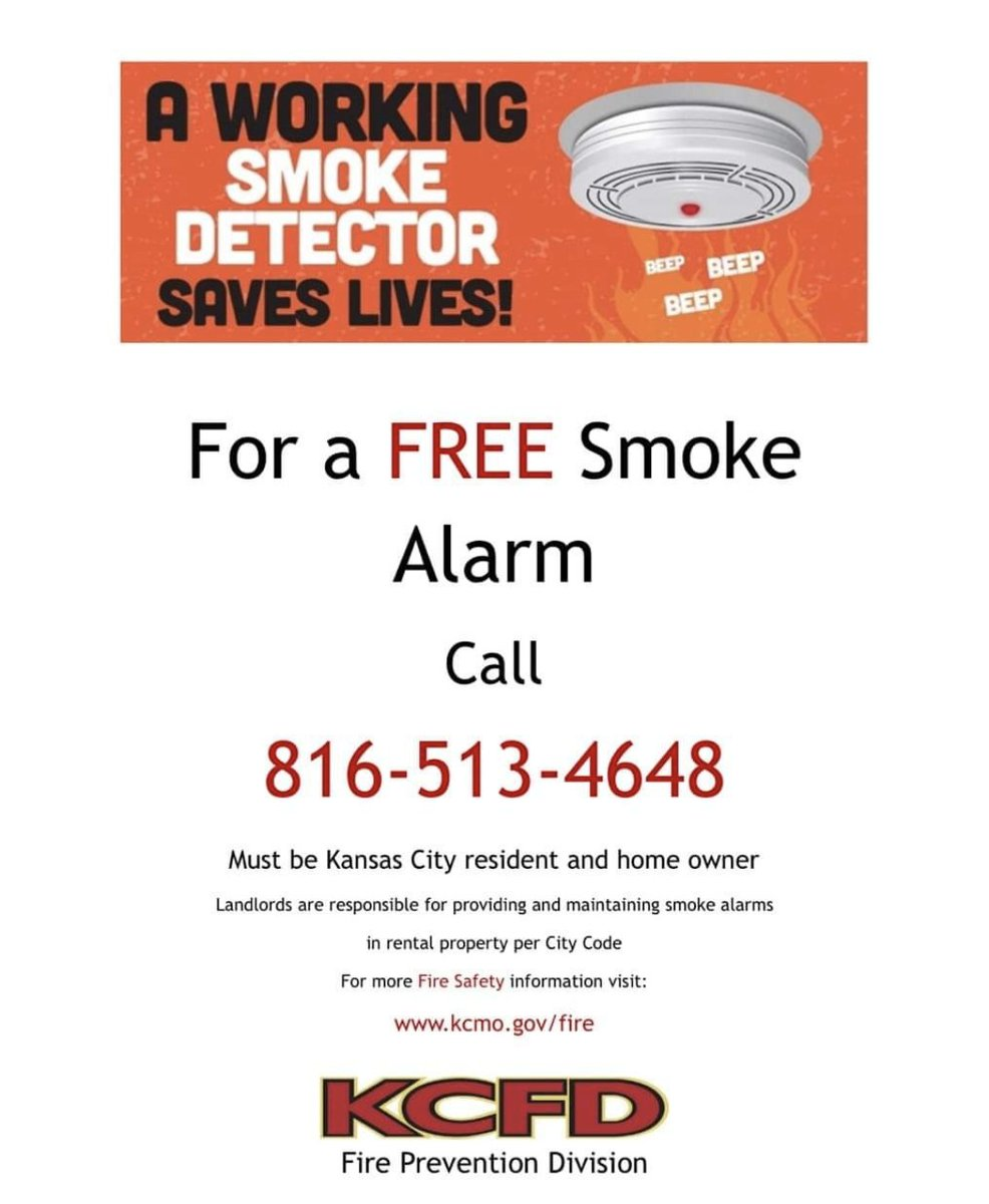 Kcfd On Twitter Smoke Detectors Are Vital To Giving You The