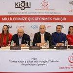 Image for the Tweet beginning: Kiğılı, Voleybol Milli Takımlar resmi