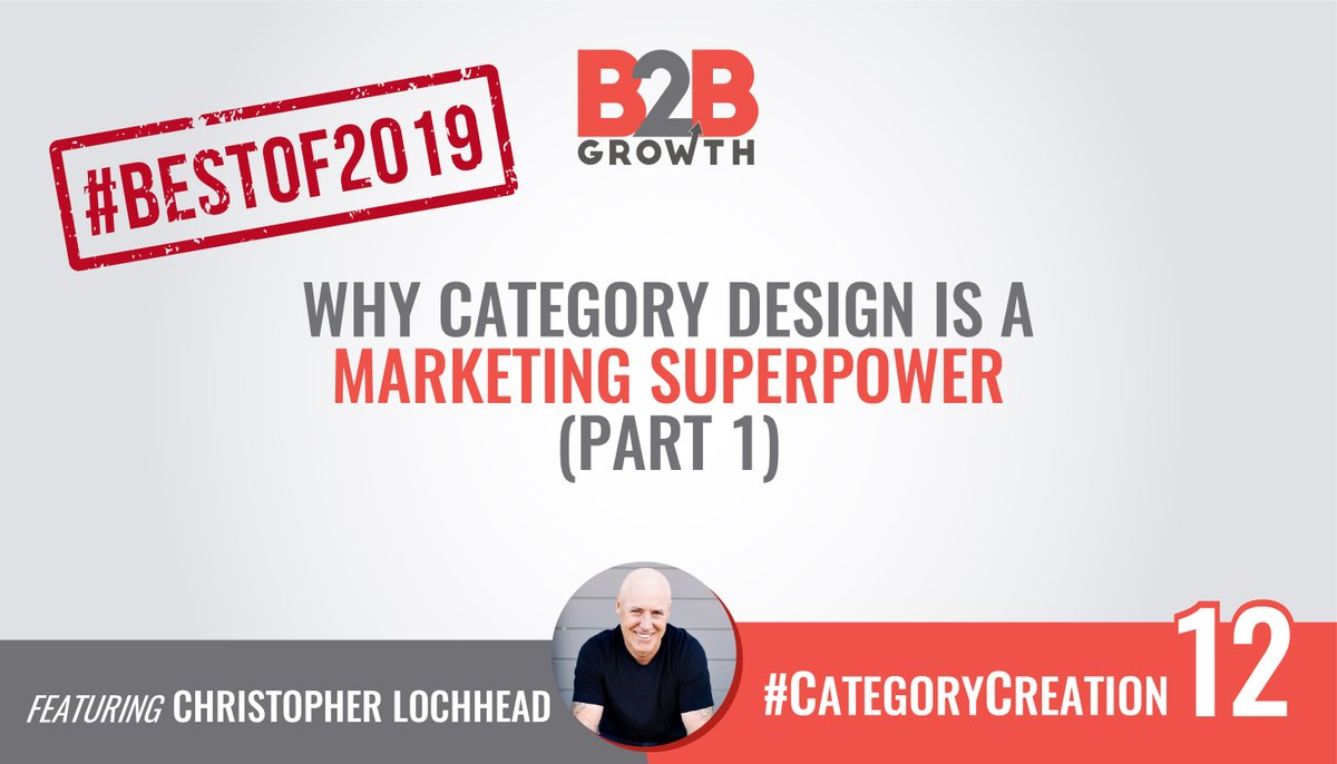 #BestOf2019: Why Category Design is a Marketing Superpower  https:// bit.ly/2GolIJN    <br>http://pic.twitter.com/Gd74b8qNzw