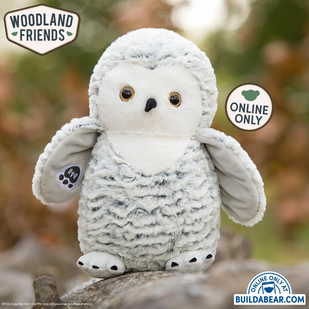 Here's a wise idea: add our NEW Snow Owl to your flock of furry friends! US:  UK: