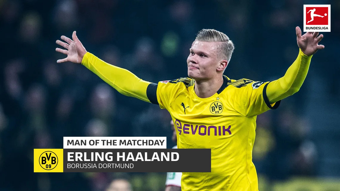 A dream start to life in the Bundesliga 🇩🇪⚽ Erling Haaland takes home back-to-back Man of the Matchday awards 🏆