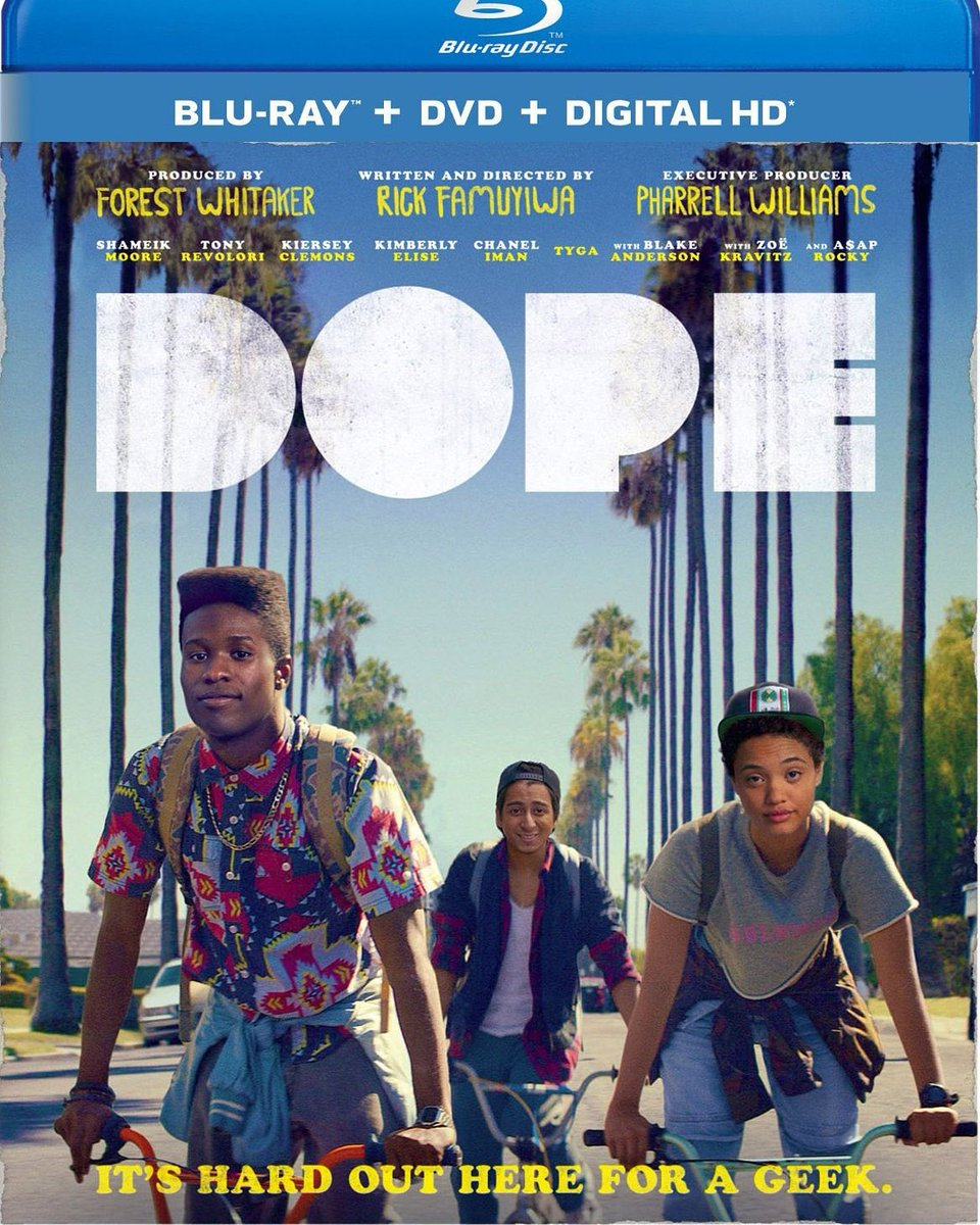 The answer to our DVD challenge was Dope!  #dope #dopemovie #moviepodcast  #recording #listening #microphones #applepodcast #applepodcasts #spotify #episodes #googleplay #stitcher #popculture #filmpodcast #teenmovies #highschoolmovies  #podcasting @CageClubPodpic.twitter.com/v8zHquKrTR