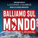 "Image for the Tweet beginning: Luciano Ligabue, col musical ""Balliamo"