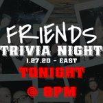Image for the Tweet beginning: We'll be hosting @FriendsTV #trivia