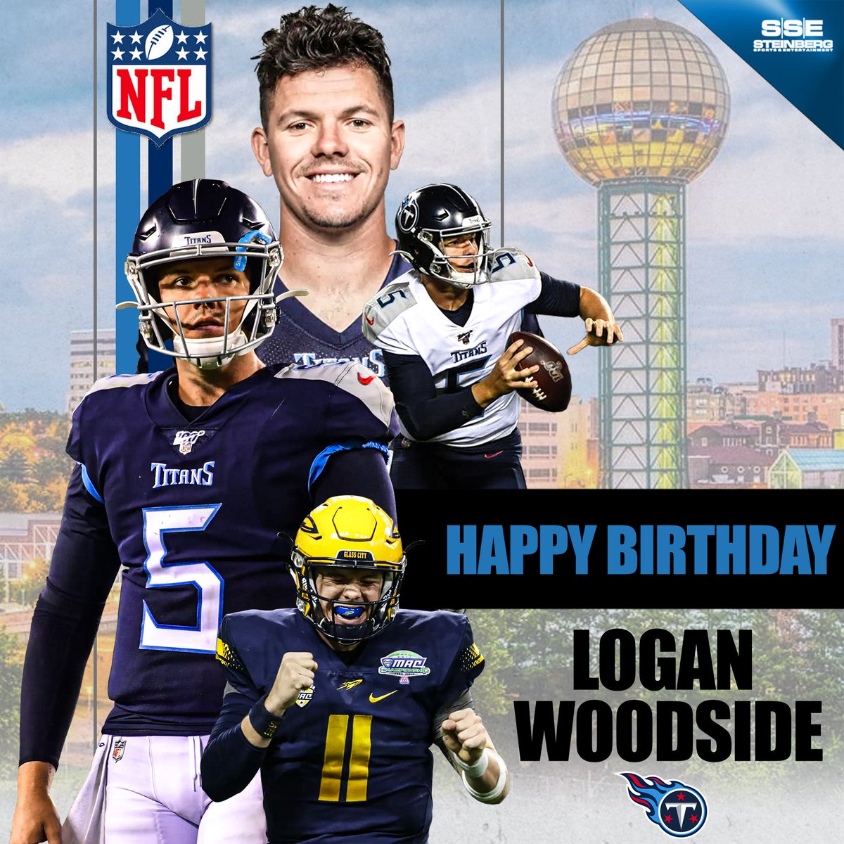 Happy 25th birthday to the man @LwoodsideQB5! We hope this is the best one yet! Enjoy your special day Logan, you deserve it! #TitanUp #TennesseeTitans pic.twitter.com/bp5V3HsFDS