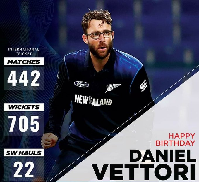 Happy 41st Birthday To one of the Greatest All-rounder Ever Played The Game :- Daniel Vettori ...