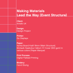 Image for the Tweet beginning: #TheMohawkShow Entry Preview: Making Materials