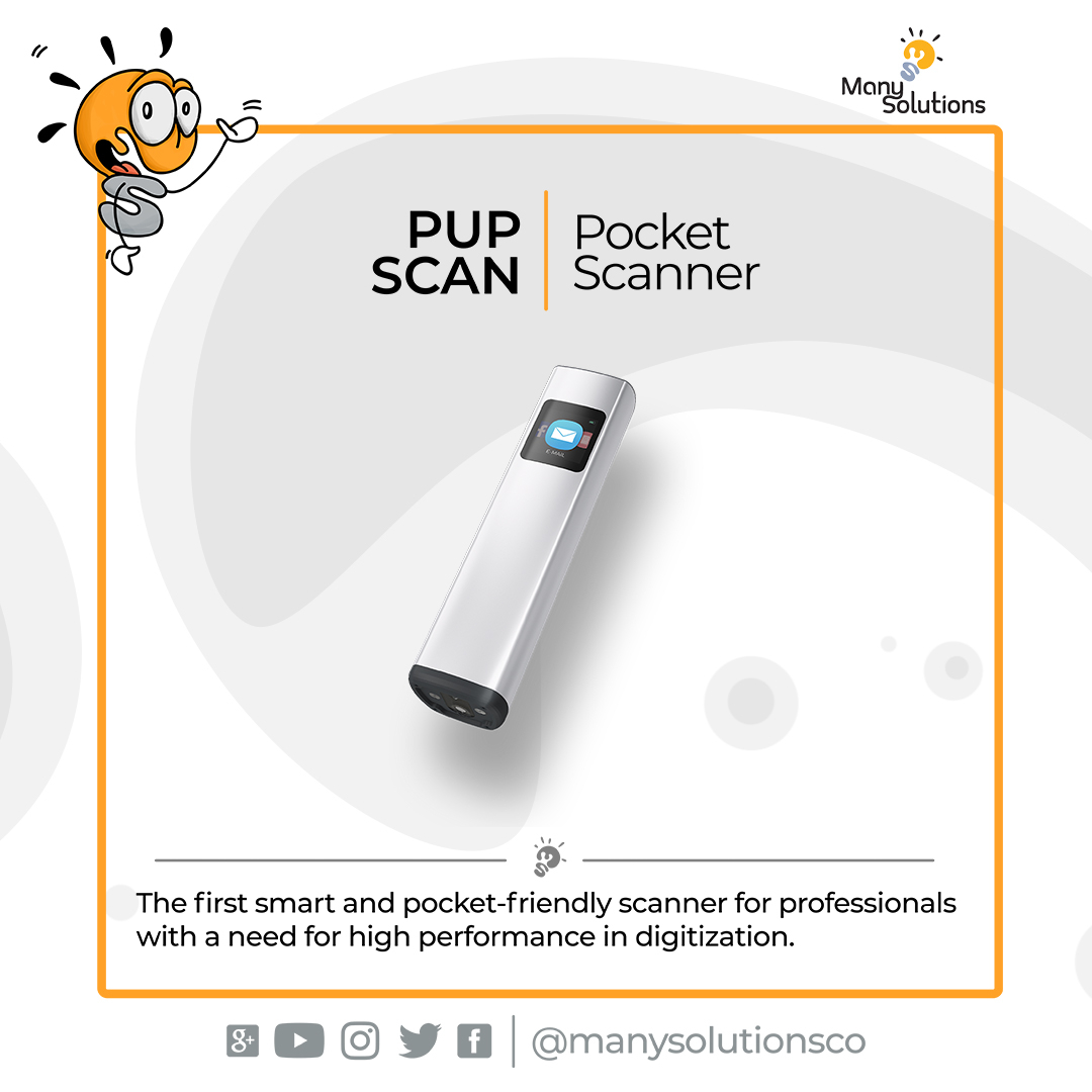 Digitalizing #papers and #files is no longer a nice to have but usually a must these days. PUP scan is a pocket scanner that makes scanning fast and easy for everyone.  GET IT: https://buff.ly/2GuT8Iv | WORLDWIDE SHIPPING #Pupscan #pocketscanner #scan #gadgets #viraltech pic.twitter.com/WqYBzBgo83