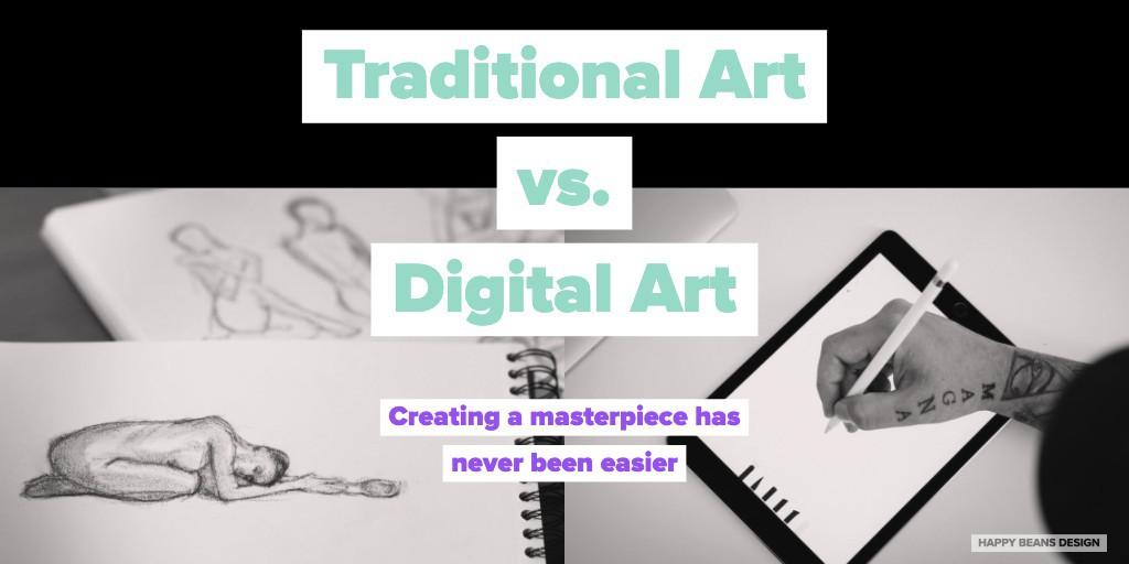 Traditional Art vs. Digital Art https://lttr.ai/Mj6T #DigitalArt #traditionalArt #DesignTips pic.twitter.com/SDmsEt8IU2