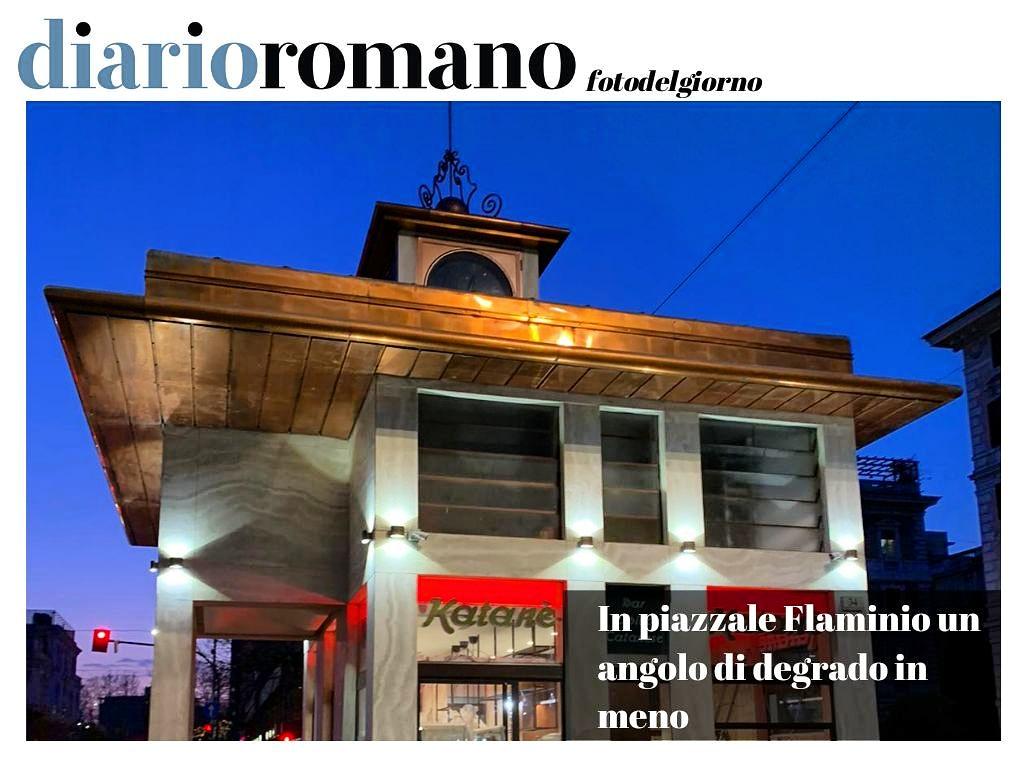 test Twitter Media - Dopo anni di chiusura riapre il bar al centro della piazza.  A. B. M. . #27gennaio #buonaserata  #Roma #Giornale  #photo #città #cittadini #fotolettori #decoro #decorourbano  #PiazzaleFlaminio https://t.co/1uWXAaQKRO