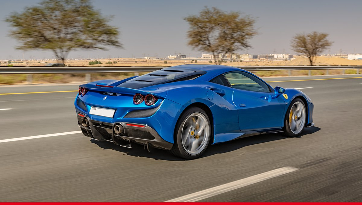 A peak at excellence: the #FerrariF8Tributo makes a pit-stop in the United Arab Emirates. #Ferrari