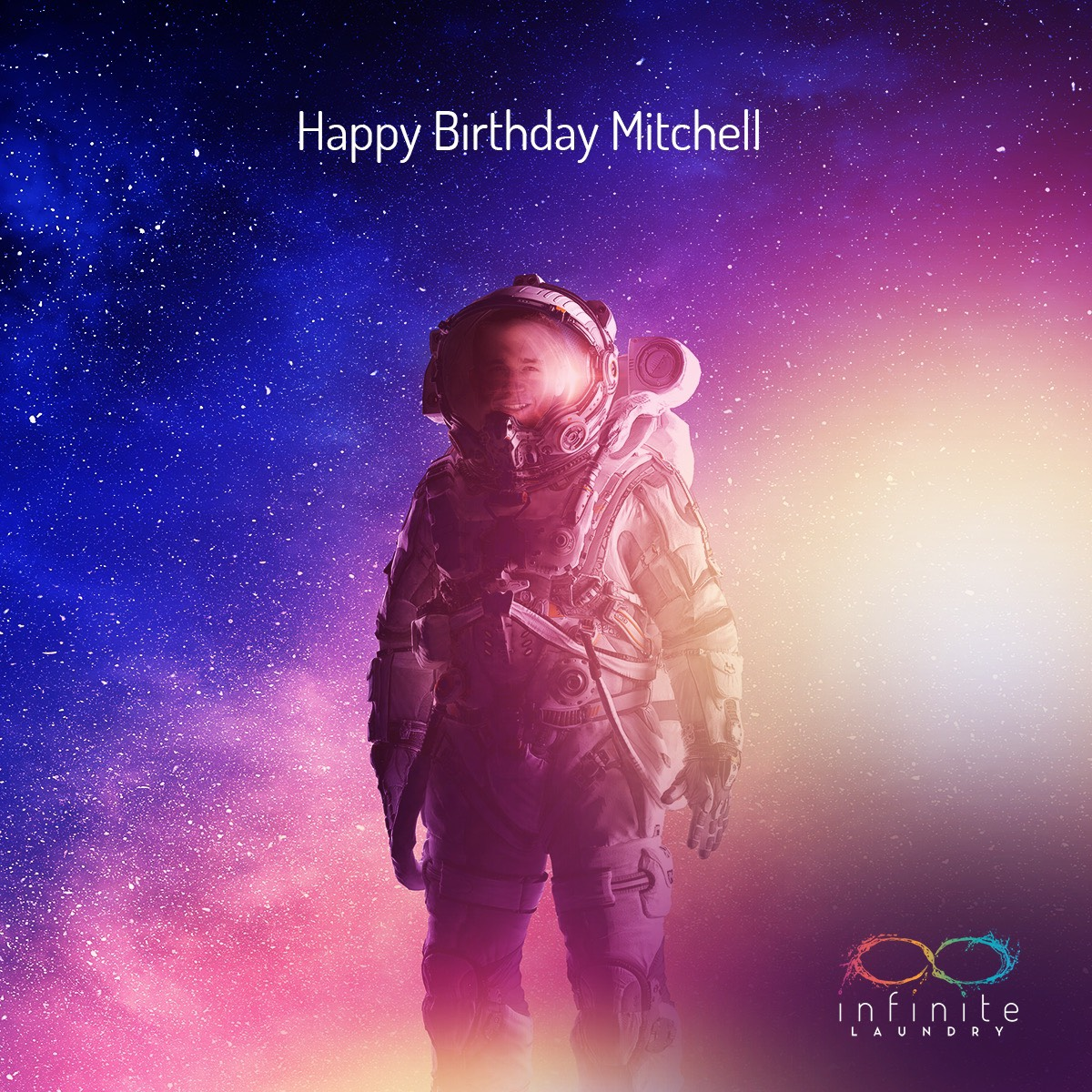 Sending happy birthday wishes to our President Mitchell Holt! 🎉 #WeAreInfinite #InfiniteLaundry