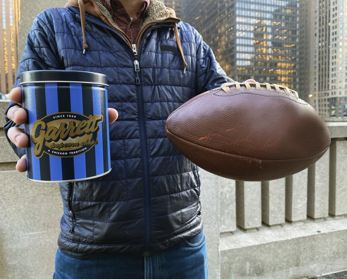 If you bring Garrett to your big celebration this Sunday, you're sure to win MVP of the party! Plus, enjoy complimentary Ground Shipping on your order. Discount auto-applied at checkout! #GarrettPopcorn