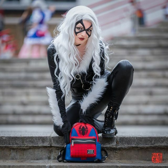 """Hey. You wanna go steal something?"" #BlackCat⠀ ⠀ #cosplay by mistress.of.mischief_ ⠀ Taken at MCM Comic Con London 19⠀ ⠀ #feliciahardy #blackcatcosplay #marveluniverse #marvelblackcat #spiderman #spiderwoman #marvel #marvelcomics https://www.instagram.com/p/B71LF1inwNV/ pic.twitter.com/CMwPslopEt"