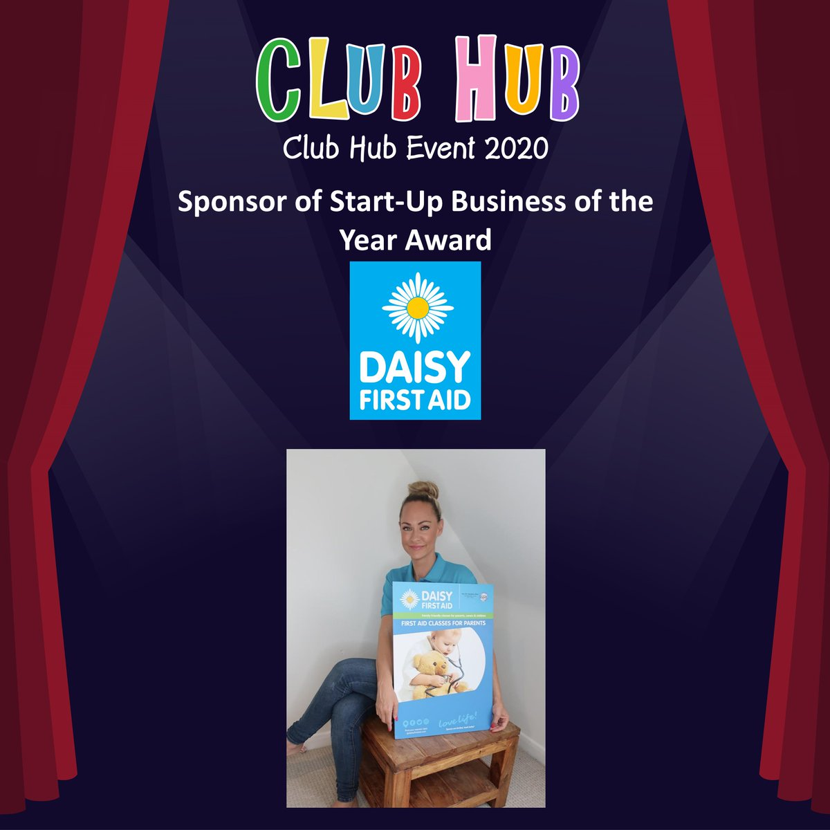 Congratulations to these businesses who have been nominated for Start-Up Business of the Year Sponsored by @daisyfirstaid   https://clubhubuk.co.uk/club-hub-event-2020/2020-entry-categories/…  @LingototBexley  @LingototGrav  @LittleLearnerBN @llfootballuk @TyroneMess @LaneRole  @LullaBabyWorcs @MamaBabyBliss @MessyNSurreypic.twitter.com/7HB2HJIp2z