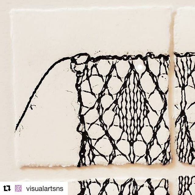 """#Repost @visualartsns with @repostapp ・・・ Last week to see Julie Rosvall's """"Return to Sender"""" exhibition at the Corridor Gallery! See the wonderful mini-prints by Rosvall, as well as her fellow @prntcollective print exchange participants, before the … https://ift.tt/2RS9gr0pic.twitter.com/qgkG4SglJw"""