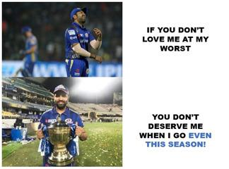 Rohit Sharma is the West player of IPL #GoEvenThisSeason<br>http://pic.twitter.com/T5hY0lk50w