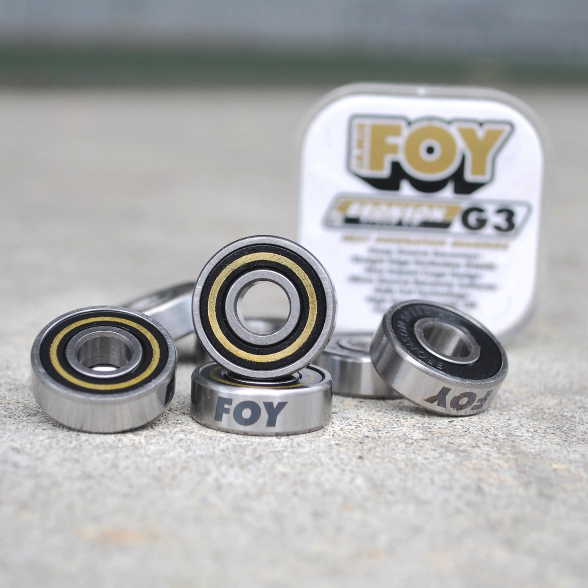 G3 Pro Bearings  Ride the Fastest Bearings with Jamie Foy and Milton Martinez G3 Pro Colorway Bearings! Hit up your local skateshop or the LINK BELOW!   Check them out http://bit.ly/38ER0rGpic.twitter.com/vGfNBX3JOp
