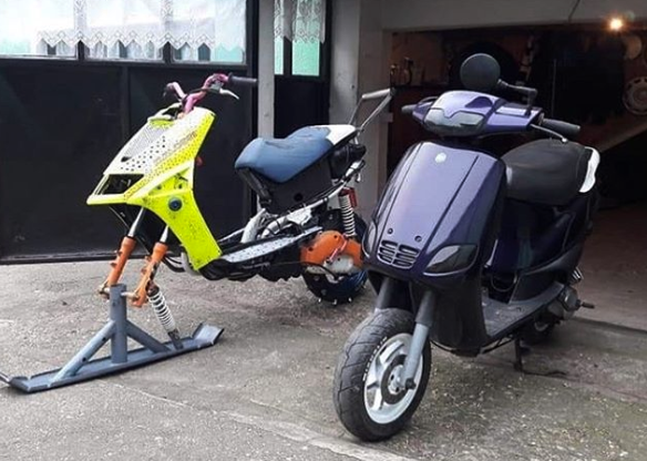 Ready to ride regardless of the weather. #snow #winter #snowscooter #scooterworksusa #scooter #scooters #scootscoot #scooterlife #scootlife #vespa #genuinescooters #kymco #lance #yamaha #honda #ruckus #scoots #scooting #scooterparts #scootpartspic.twitter.com/YGPu96Fo03
