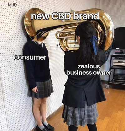 We've been in this industry for 4 going on 5 years now. This means you can trust that we understand what CBD is, and what you're getting when purchasing a CBD product! • #cbd #hemp #memes #succ #memes4days #funny #cbdmemes #memepic.twitter.com/8B0JdYqxJz