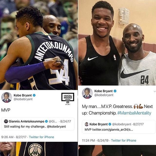 Giannis twitter hacked photos