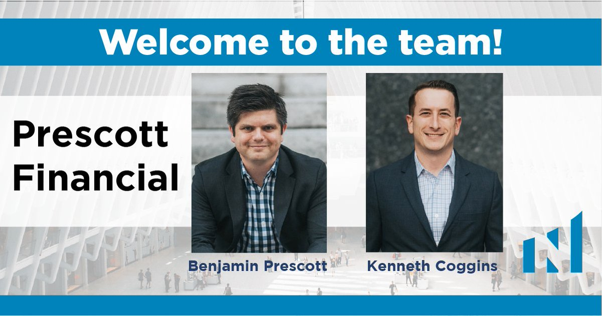 We are pleased to welcome Prescott Financial to the team!