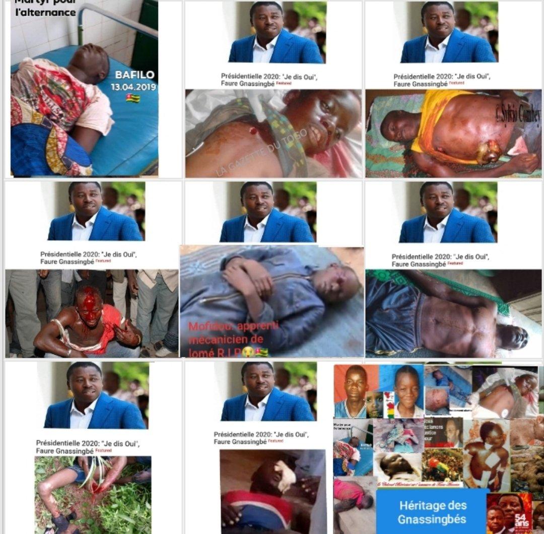 on est pas tous des cons. la réalité Togolaise est tout autre chose #NeverAgain @amnesty #GermanyDiplo #EU #USEmbassyLome #Togo228 Rpt-#UNIR #denyigban #agbeyome_kodjo https://t.co/tjgr0j5uil https://t.co/cfYuw8LlIN