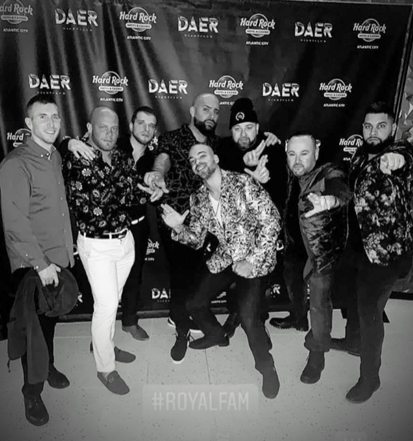 The team rolling deep in AC  #thepartyneverstops pic.twitter.com/gExVUfwcPu