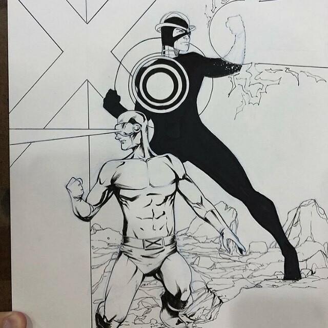 @brianvander does an awesome #havok #commission #sketch for @newyorkcomiccon 2019! #anime #art #arts #artist #artsy #artistsoninstagram #artwork #batman #bestoftheday #comic #comics #dccomics #disney #draw #drawing #drawings #illustration #manga #marvel …