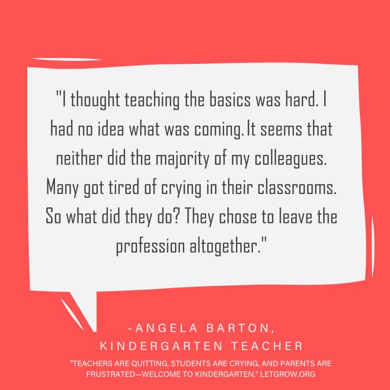 We need more good teachers. #LetGrow #LetThem #FreePlay #Kindergarten #KindergartenTeacher #Teachers #EdChat #TeacherLife pic.twitter.com/AKn6OOdA2E