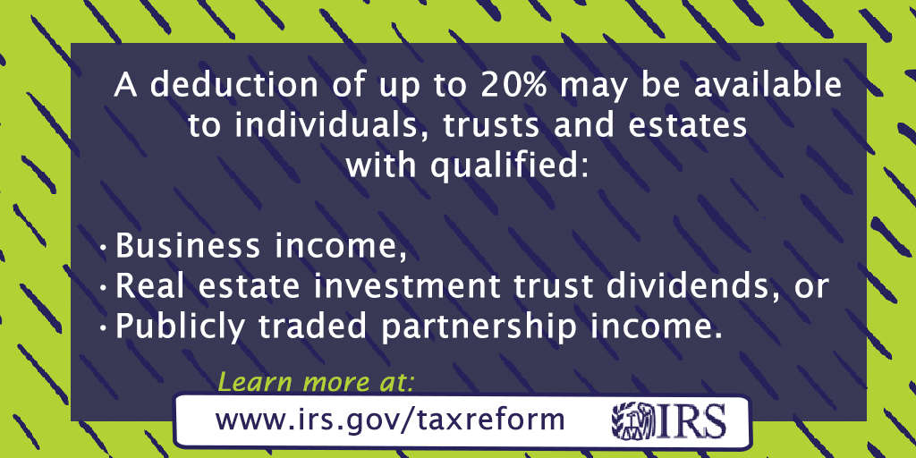 With #TaxReform, there are new rules and limitations for depreciation and expensing that may affect you.  http://www. irs.gov/taxreform     #IRS<br>http://pic.twitter.com/4lHRwgl2v7