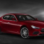 Image for the Tweet beginning: Maserati preps Ghibli hybrid for